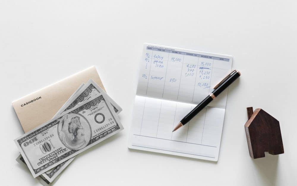 cash and checkbook